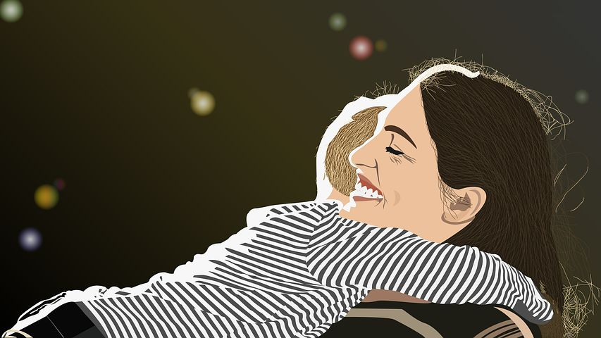 Ellas Blog Leben mit autismus Mutter mit Kind