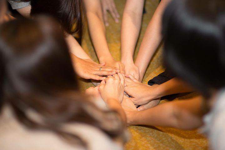 viele Hände - ein Team