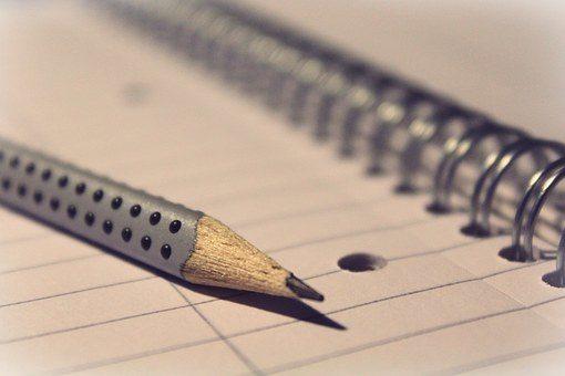Block mit Stift