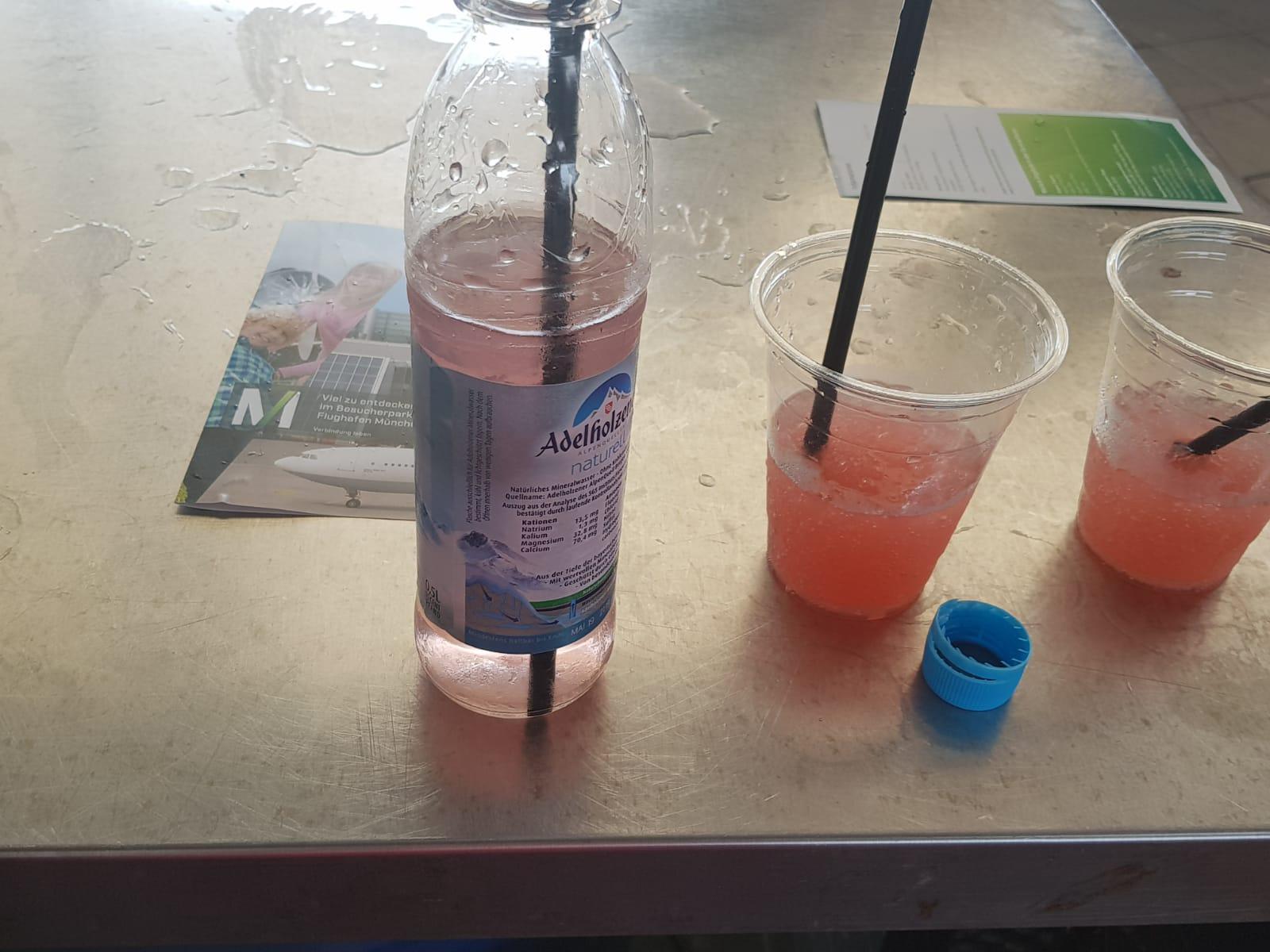 Slushy mit Wasser