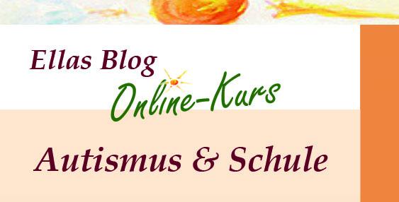 Onlinekurs Logo Autismus und Schule