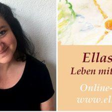 Foto von Silke mit Logo von Ellas BLog