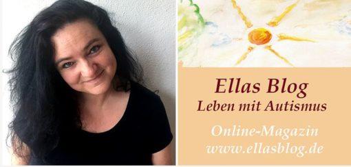 Foto von Silke und Logo Ellas Blog