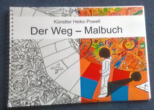 Der Weg, Malbuch von Heiko Powell, Buchcover