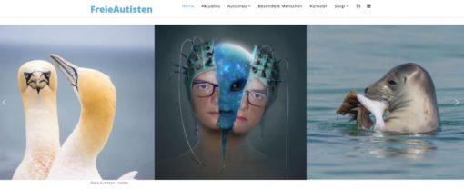 Bild von der Webseite der Freien Autisten