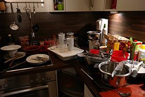 Chaos in der Küche