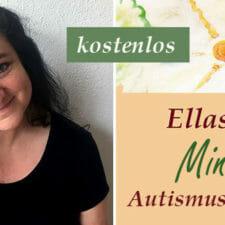 Silke mit Logo Ellas Blog Freebie Autismus und Schule