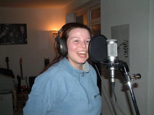 Elisa beim Singen