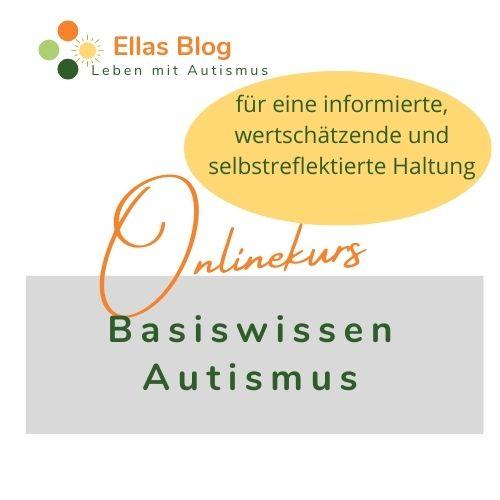 Cover zum Onlinekurs Basiswissen Autismus